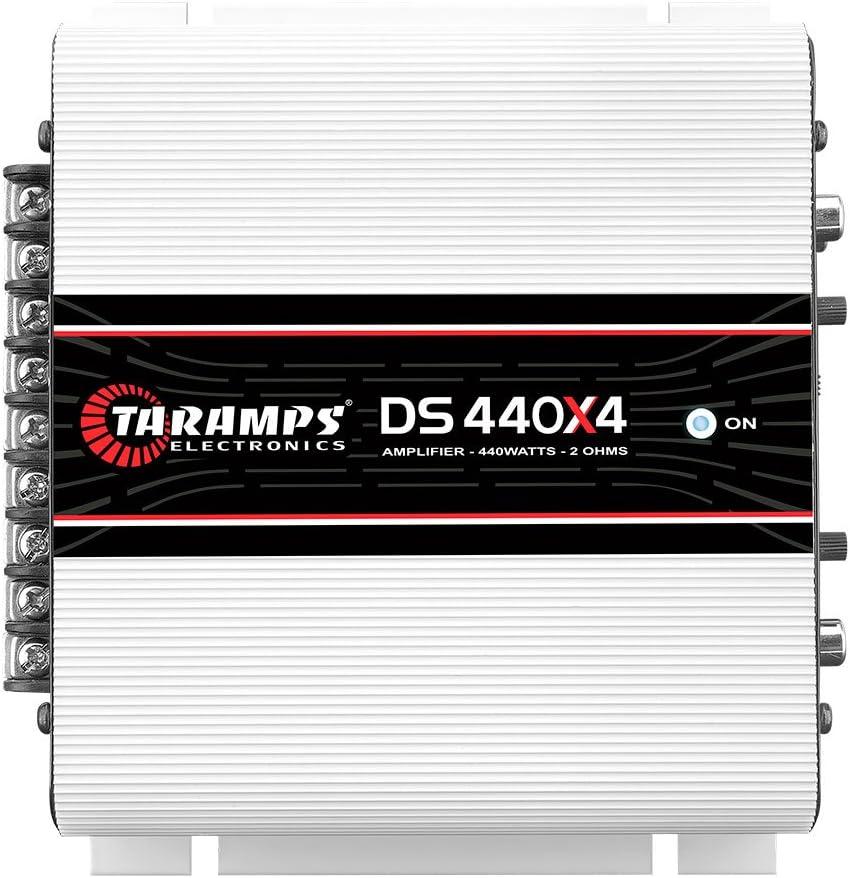 Taramps DS 440X4 2 Ohms 4 Channels 440 Watts Compact Amplifier