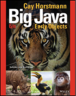 Big Java: Late Objects 1st Edition Textbook Solutions ...