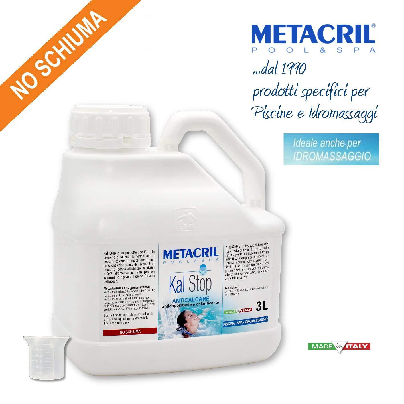 Metacril antical y aclarante - Kal Stop 3 l + dosificador. No Espuma ...