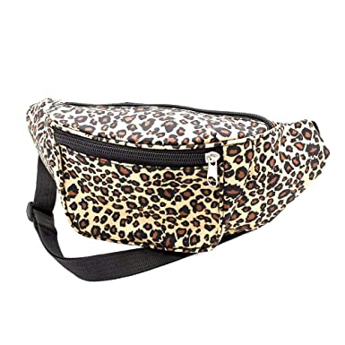7a22ed72c24a Leopard Print Fabric Bum Bag   Fanny Pack - Club Wear  Party Wear   Amazon.co.uk  Clothing