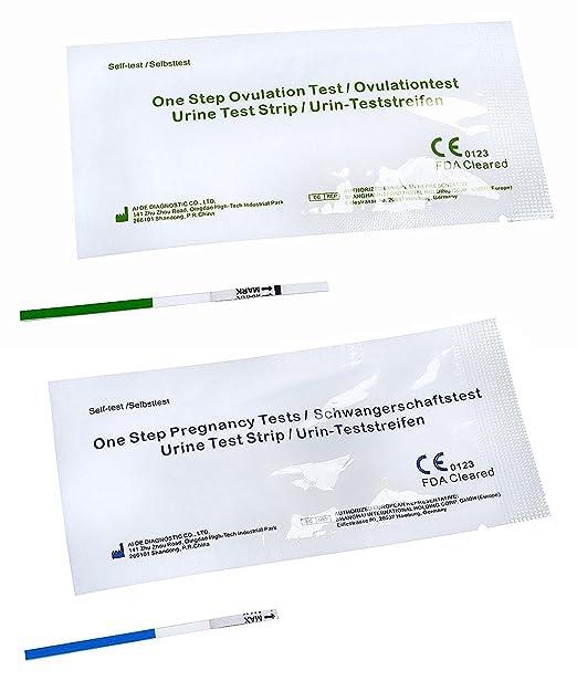 5 One+Step® Frühschwangerschaftstest + 25 One+Step® Ovulationstests