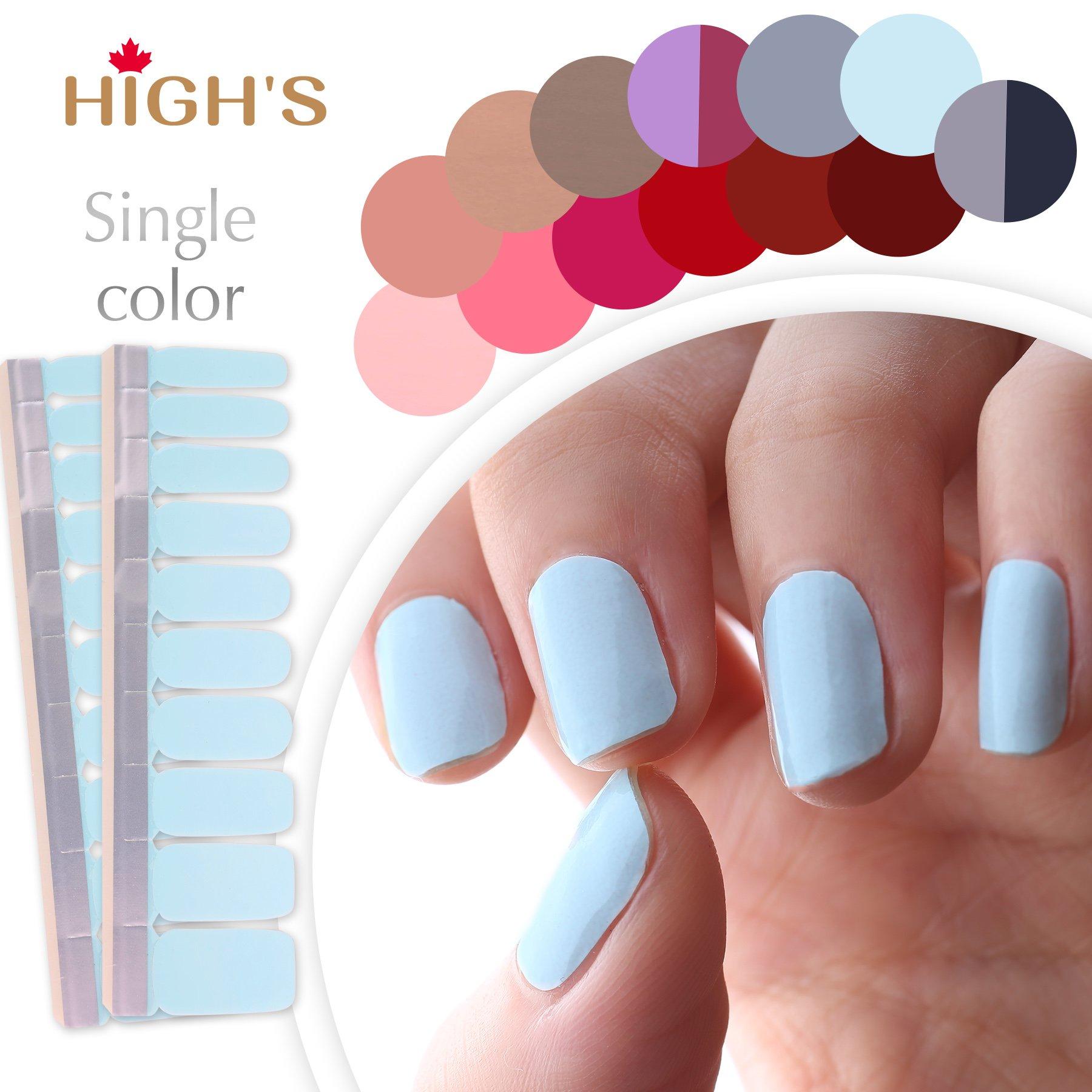 Amazon.com : Angel Beauty - Premium Nail Wraps - A Splash of Color ...