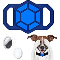 leChivée hoesje compatibel met Airtag Pet Collar,Siliconen AirTag Houder voor Apple Airtag GPS Tracking Finder Hond Kat…