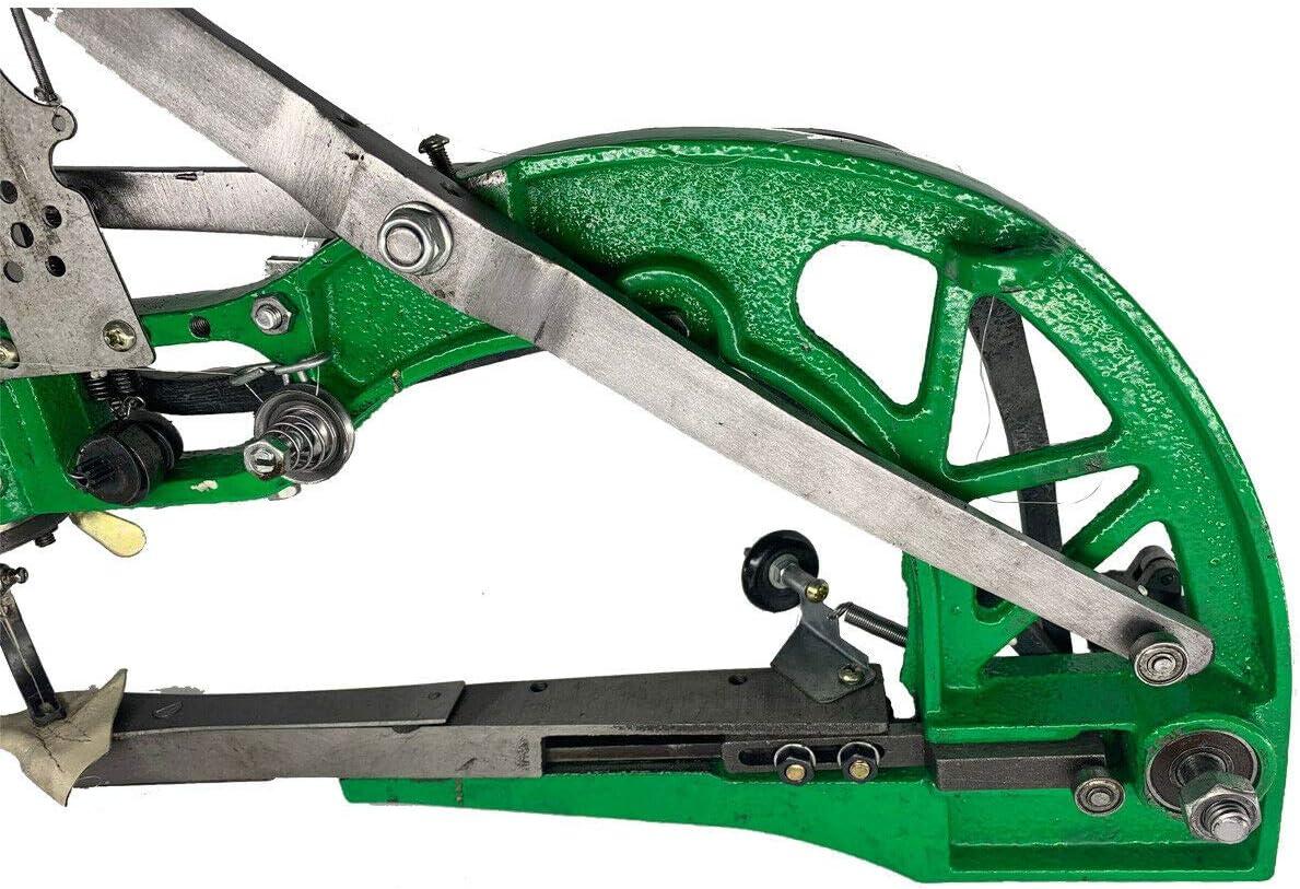 Cozyel M/áquina de reparaci/ón de Zapatos M/áquina de Coser Herramientas para zapateros con Soporte Tipo tr/ípode Agujas y bobinas de Nylon