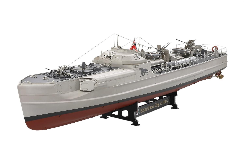 タミヤ イタレリ 1/35 シップシリーズ 1/35 ドイツ海軍魚雷艇 S100 シュネルボート プラモデル B000OGZJEM