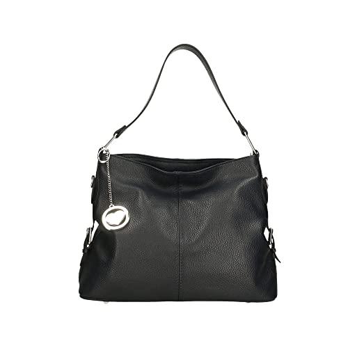 7a2c5c2421361 Chicca Borse Bag Borsa a Spalla in Pelle Made in Italy 32x26x15 cm ...