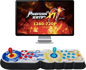 Best brose Pandora's Box 11 Arcade Game Console , 2706 Games Installed,Support 3D Games, Games Classification, Upgraded CPU, Support PS3 PC TV 4 Players, Favorite List (Black)(Black)
