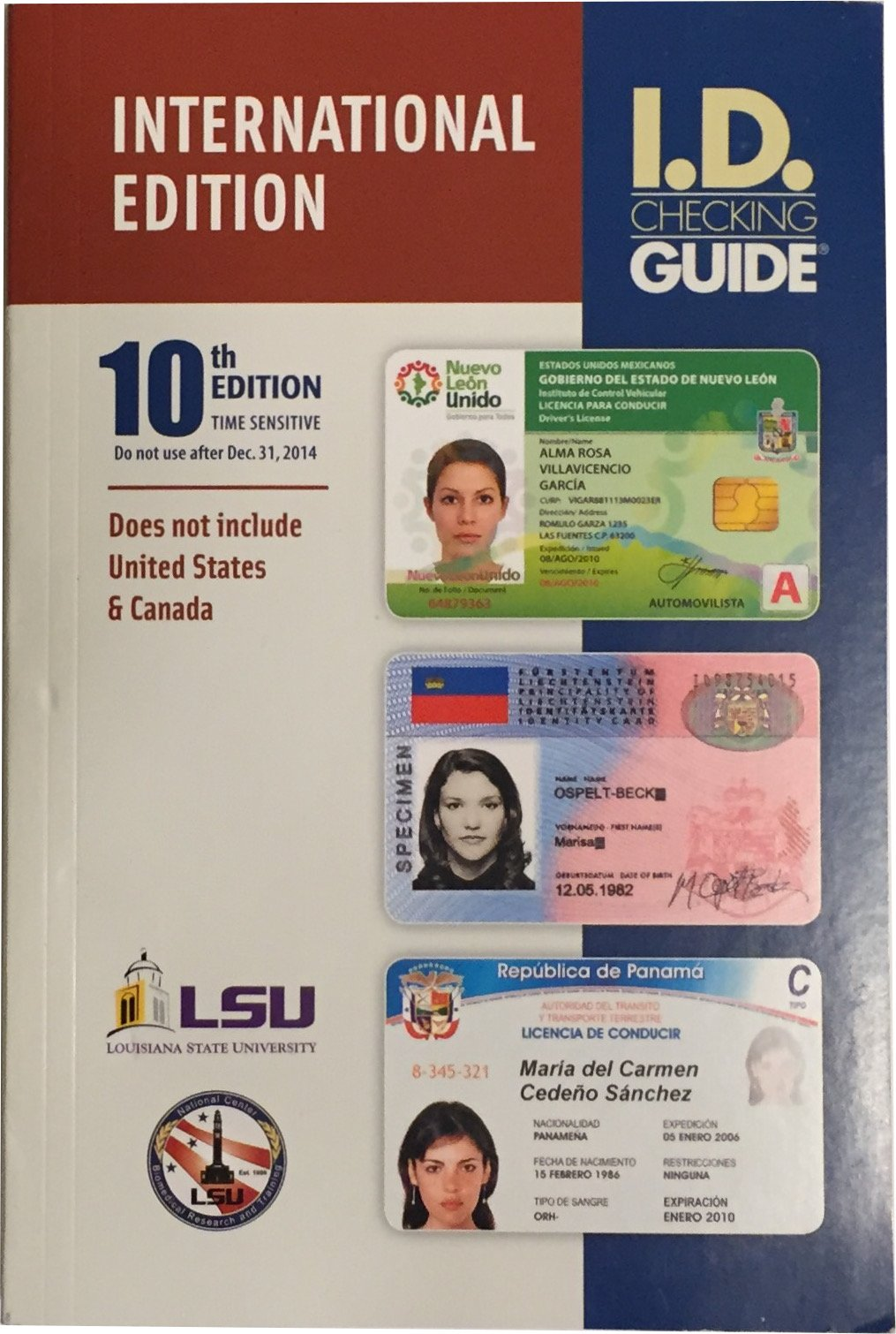 ID Checking Guide International Edition 10th Edition