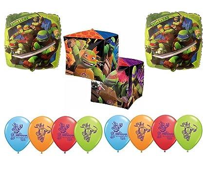 TMNT Teenage Mutant Ninja Turtles Cubez Balloon Decoration Kit