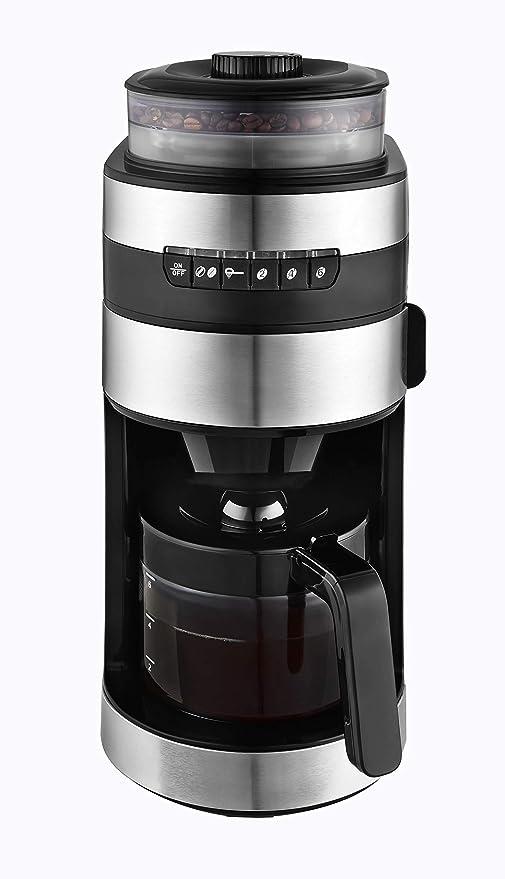 Venga! VG CCG 3006 - Cafetera con molinillo de acero inoxidable ...