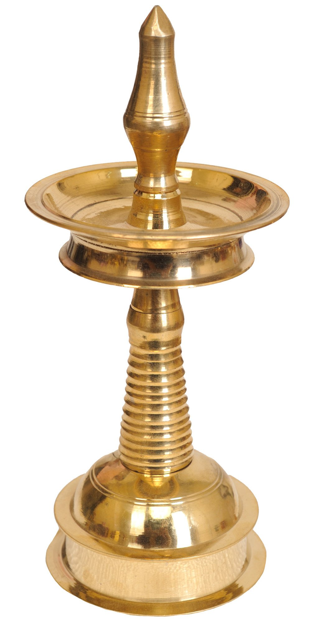 Puja Lamp from Kerala - Bronze