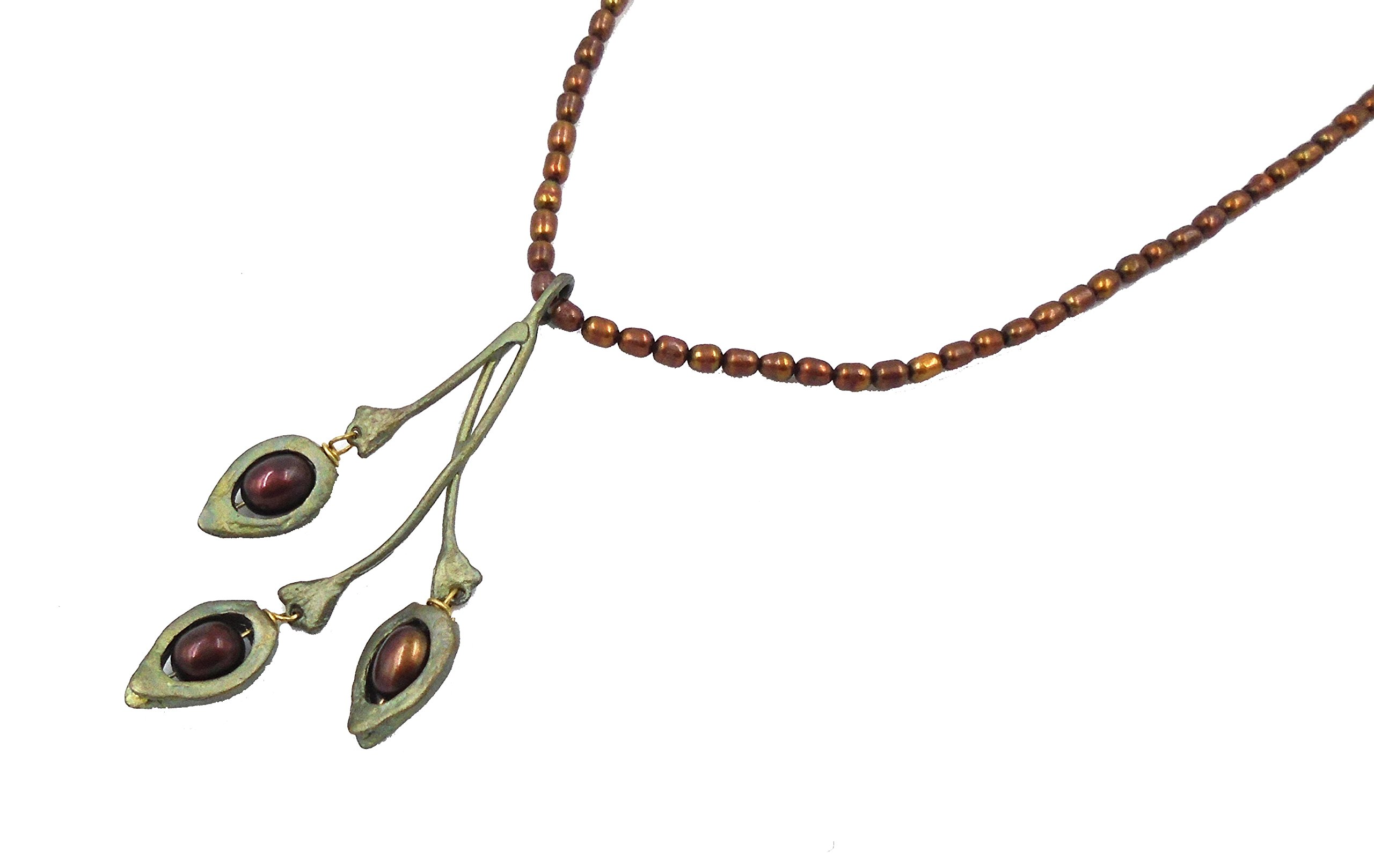 ''American Elm'' Pearl Necklace By Michael Michaud for Silver Seasons by Michael Michaud (Image #2)