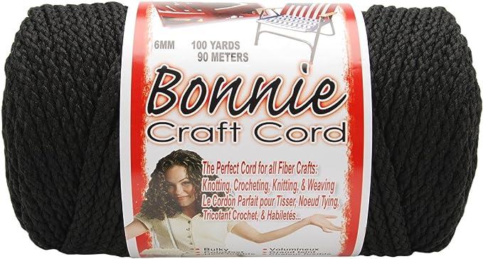 100 yd Lengths 2 Pack Bonnie Macram/é Cord 4mm Various Colors