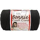 Pepperell 6mm Bonnie Macramé Craft Cord, 100-Yard 黑色
