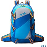 Makino 60L Adjustable Internal Frame Backpack Waterproof Trekking Bag of Rain Cover for Outdoor Hiking Travel Climbing Camping & Mountaineering