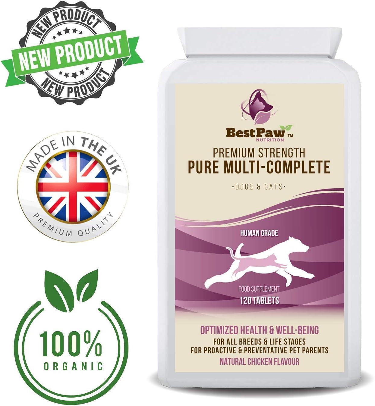 Best Paw Nutrition - Multivitamínico para Perros - Estas Vitaminas Y Suplementos para Perros Le Aseguran De Que Su Perro Se Mantenga Sano Y Activo