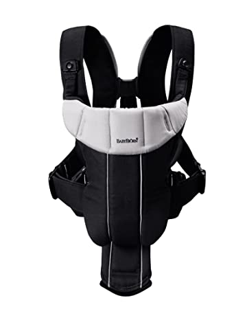 Babybjorn Baby Carrier Active Black Silver Discontinued By Manufacturer
