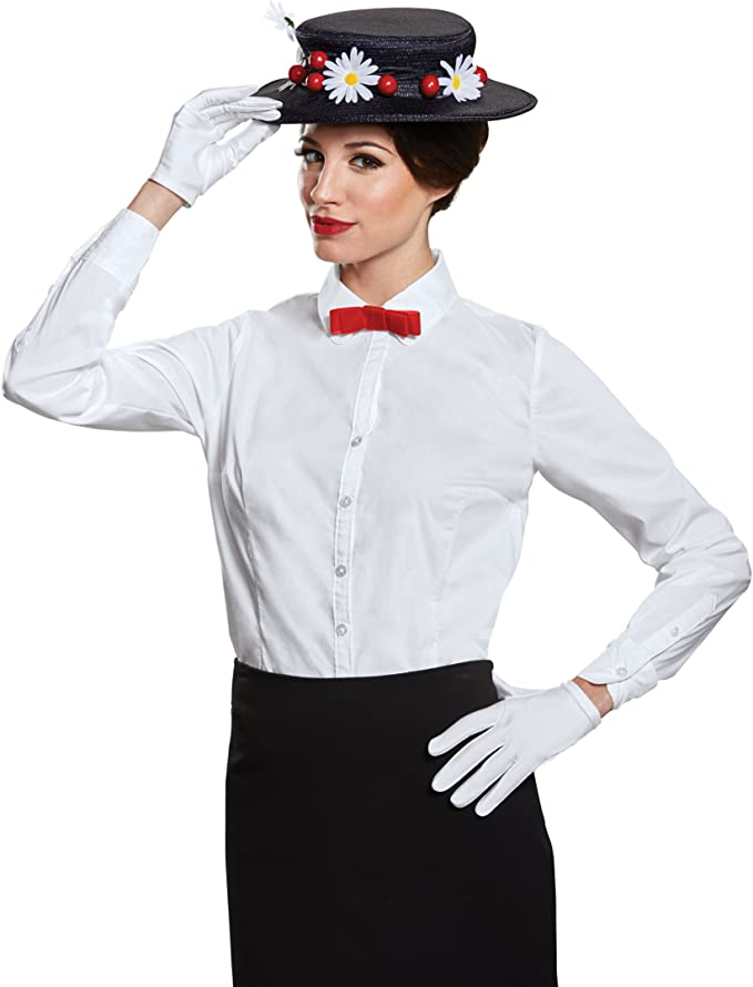 1900s, 1910s, WW1, Titanic Costumes Disguise Womens Mary Poppins Accessory Kit - Adult $24.99 AT vintagedancer.com