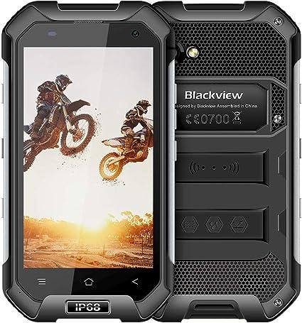 Amazon.com: Teléfono Android resistente, Blackview BV6000s ...