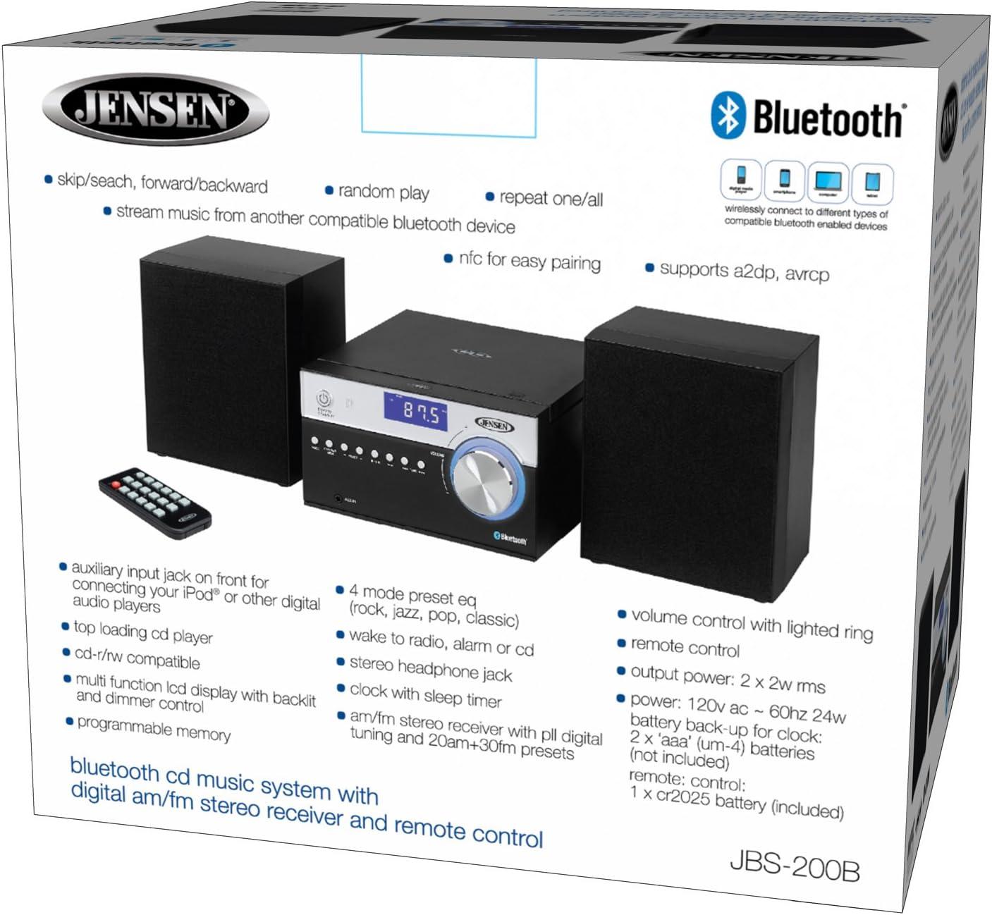 Jensen Modern Black Series JBS-200B