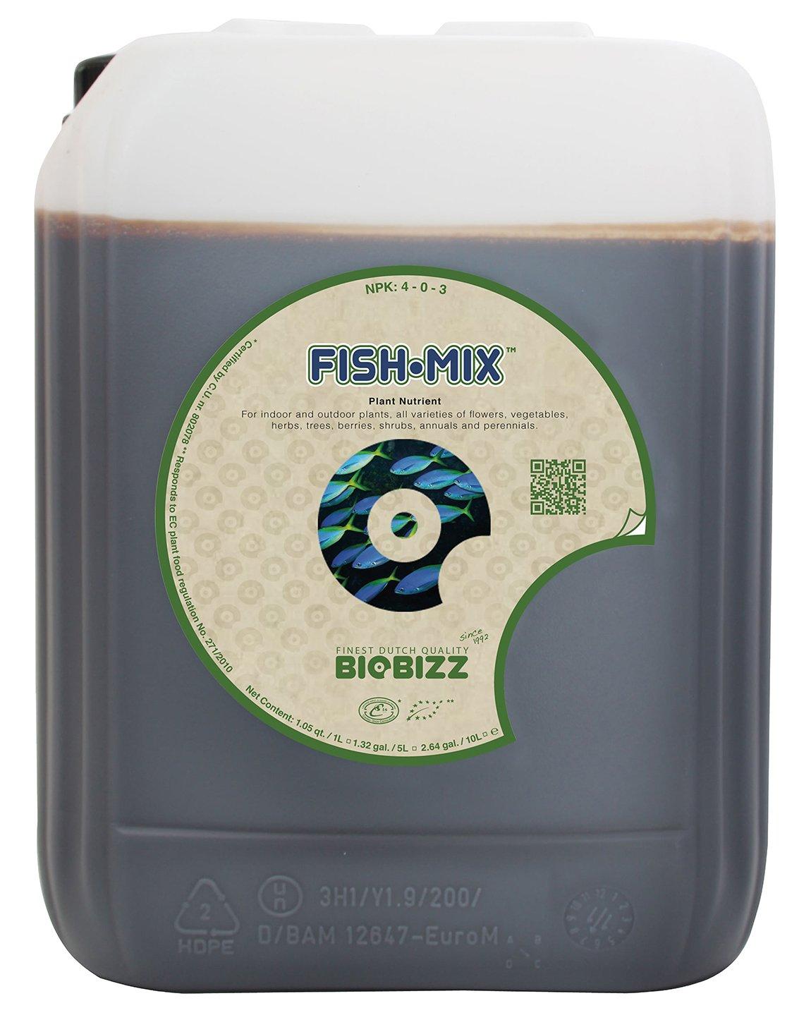 BioBizz Fish-Mix 20 litros (1/CS): Amazon.es: Jardín