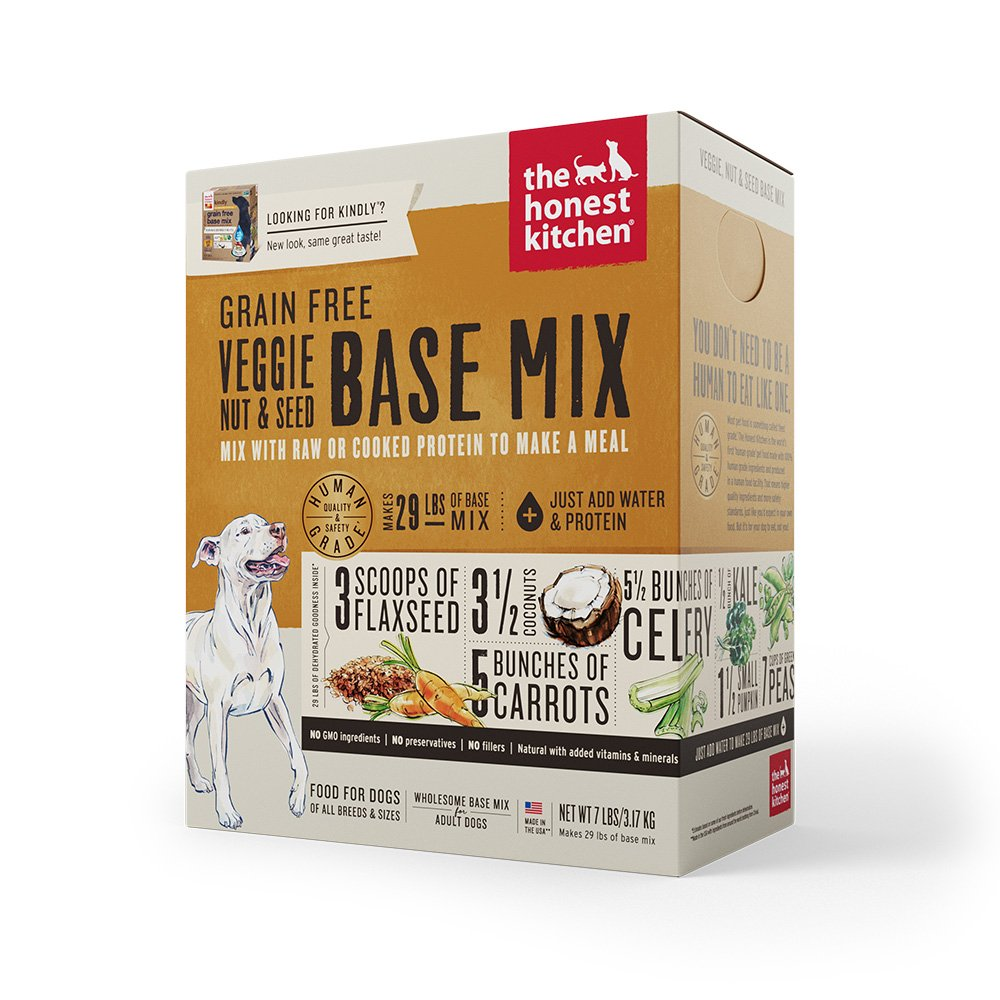 The Honest Kitchen DEHYDRATED GRAIN-FREE VEGGIE, NUT & SEED BASE MIX