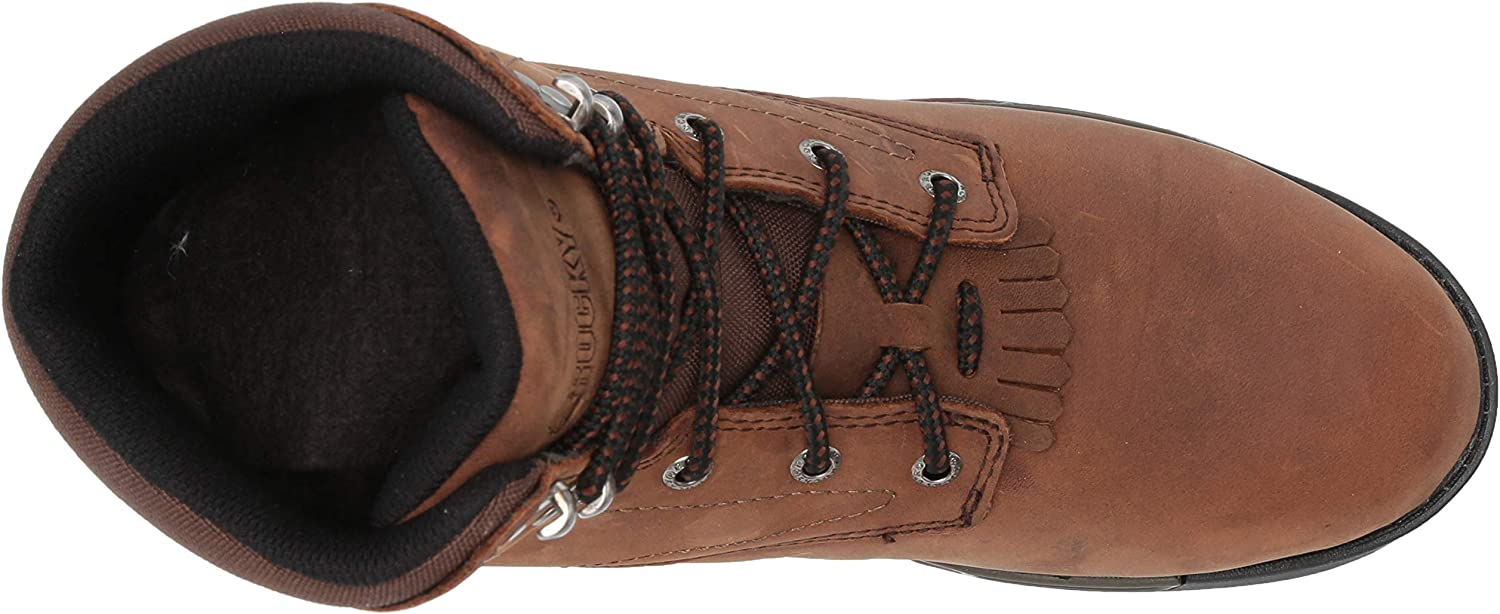 Rocky Womens Lace-Up Aztec Work Boot
