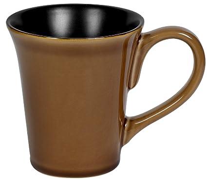 Amazon.com | Corelle Hearthstone Stoneware 9-Ounce Mug, Cocoa ...