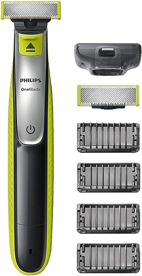 Philips OneBlade QP2530/30 - Recortador de Barba con 4 Peines de 1 ...
