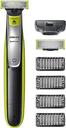 Philips OneBlade QP2530/30 - Recortador de Barba con 4 Peines de 1,2,3,4,5 mm Longitudes, Incluye Cuchilla Adicional, Recorta, Perfila y Afeita, Recargable: Amazon.es ...