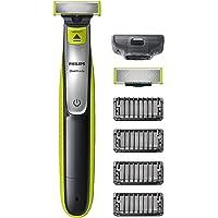 Philips OneBlade Face - Trimma, styla och raka - För alla skägglängder - 4 stubbkammar med klickfäste - 60 minuters…