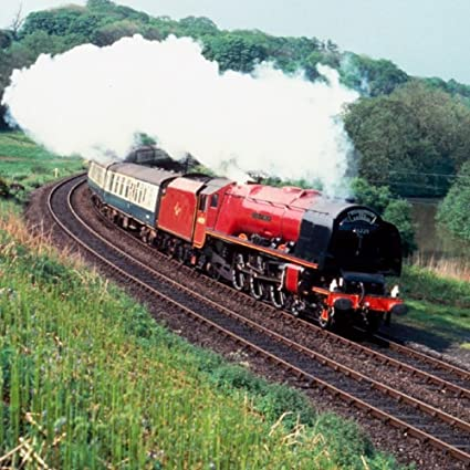 Duquesa de Hamilton locomoción tren de saludo tarjeta de ...
