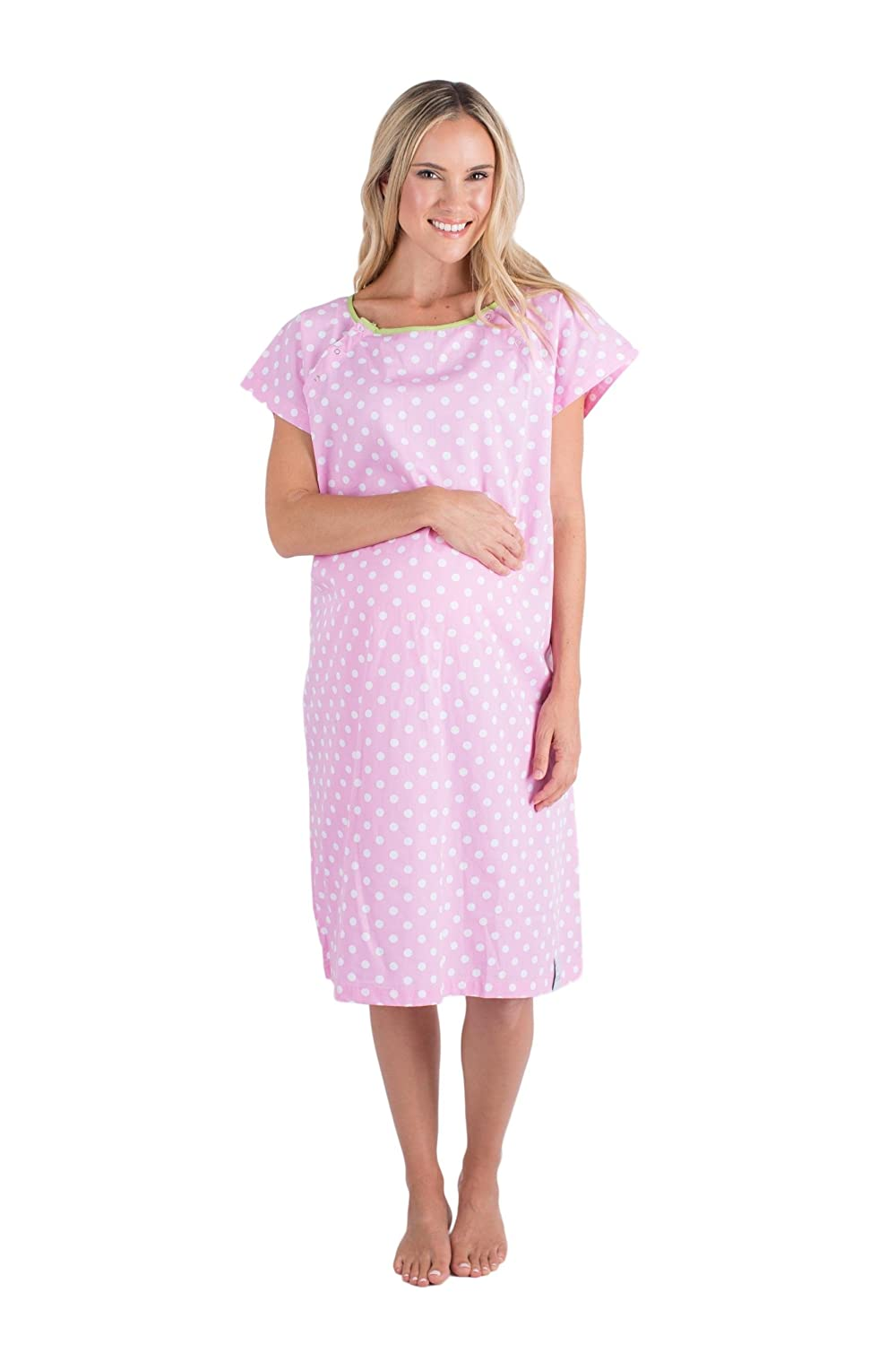 Gownie Molly (Size 12-20)- Baby Be Mine Maternity - Hospital Gown ...