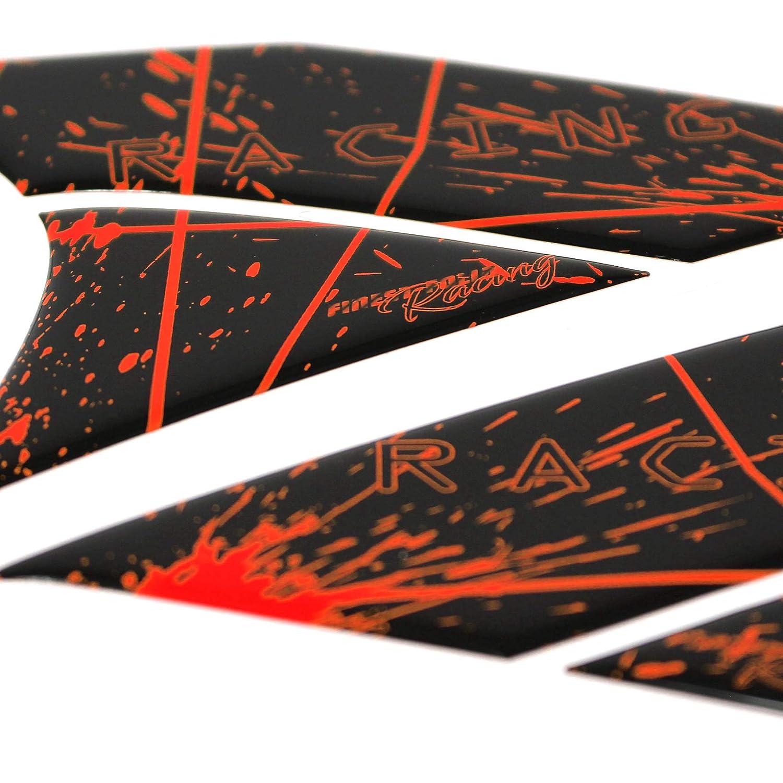 Gel Neon Tankpad Moto 3D Brillant Universel Protection de r/éservoir Autocollant de protection de peinture