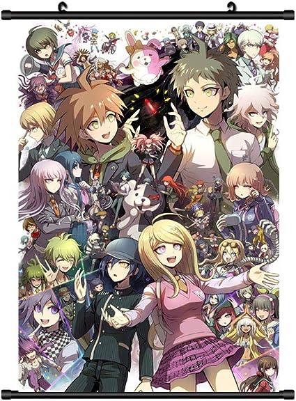 New Danganronpa V3 Anime HD Canvas Print Wall Poster Scroll Home Decor Cosplay