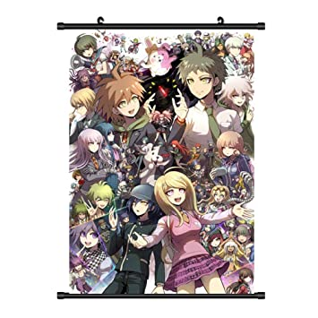 Elibeauty Anime Danganronpa V3 Scroll Poster, Anime Cartoon Character  Poster Waterproof Cloth Wall Scroll Poster Hanging Paintings Home Decor  Perfect