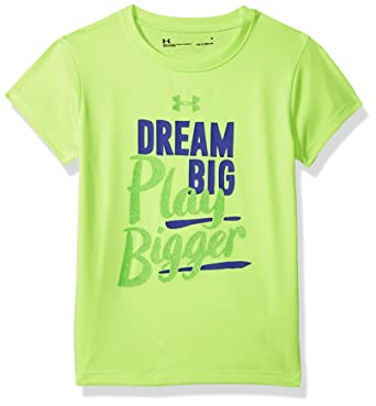 a5bd5f24 Amazon.com: Under Armour Girls' Graphic Short Sleeve T-Shirt: Clothing