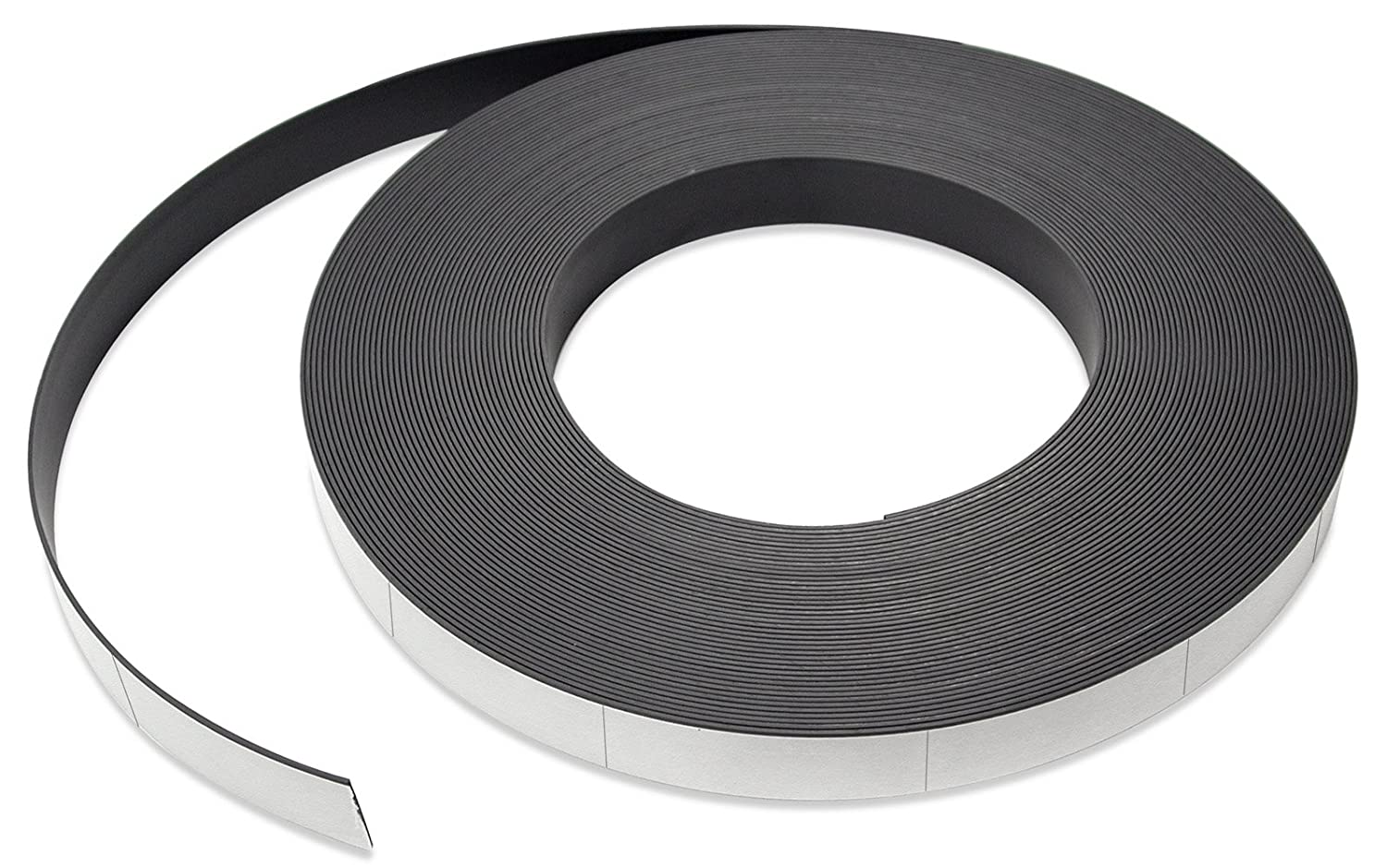 Flexible Magnet Strip with White Vinyl Coating, 1/32' Thick, 1' Height, 50 Feet, Scored Every 3', 1 Roll with 197-1' x 3' Pieces (1 pack) ZGN03040W/WKS50S3 1/32 Thick 1 Height Scored Every 3 1 Roll with 197-1 x 3 Pieces (1 pack) ZGN03040W/WKS50S3 Inc.