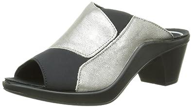 42b41a302 Romika Womens Mokassetta 244 Platinum Leather Sandals 37 EU