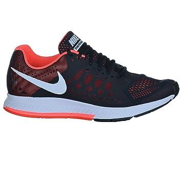 Nike Air Zoom Pegasus 31 Zapatillas Para Caminar para Hombres - Negro/Blanco, 42 1/2: Amazon.es: Deportes y aire libre