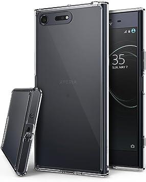 Ringke Funda Sony Xperia XZ Premium, [Fusion] Transparente al ...