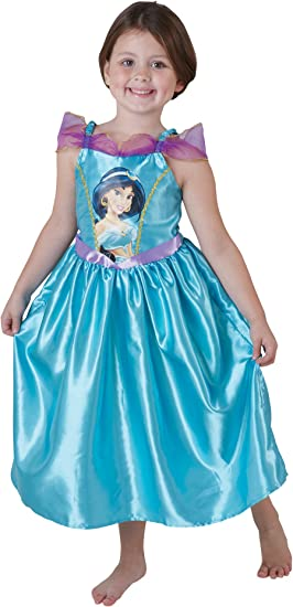 Rubies Jasmine - Disfraz de princesa para niña, talla L (7-9 años ...