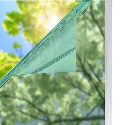 window film to block sun heat adhesive solardiamond privacy window film silver green mirror one way decorative heat control sun blocking uv protection amazoncom