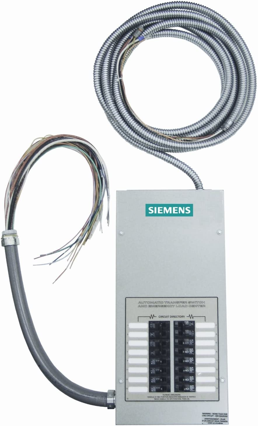 B004VCX2BC Siemens ST100R16C Pre-Wired, Indoor and Automatic Transfer Switch with 16 Critical Circuits 71Ilh84gS6L.SL1500_