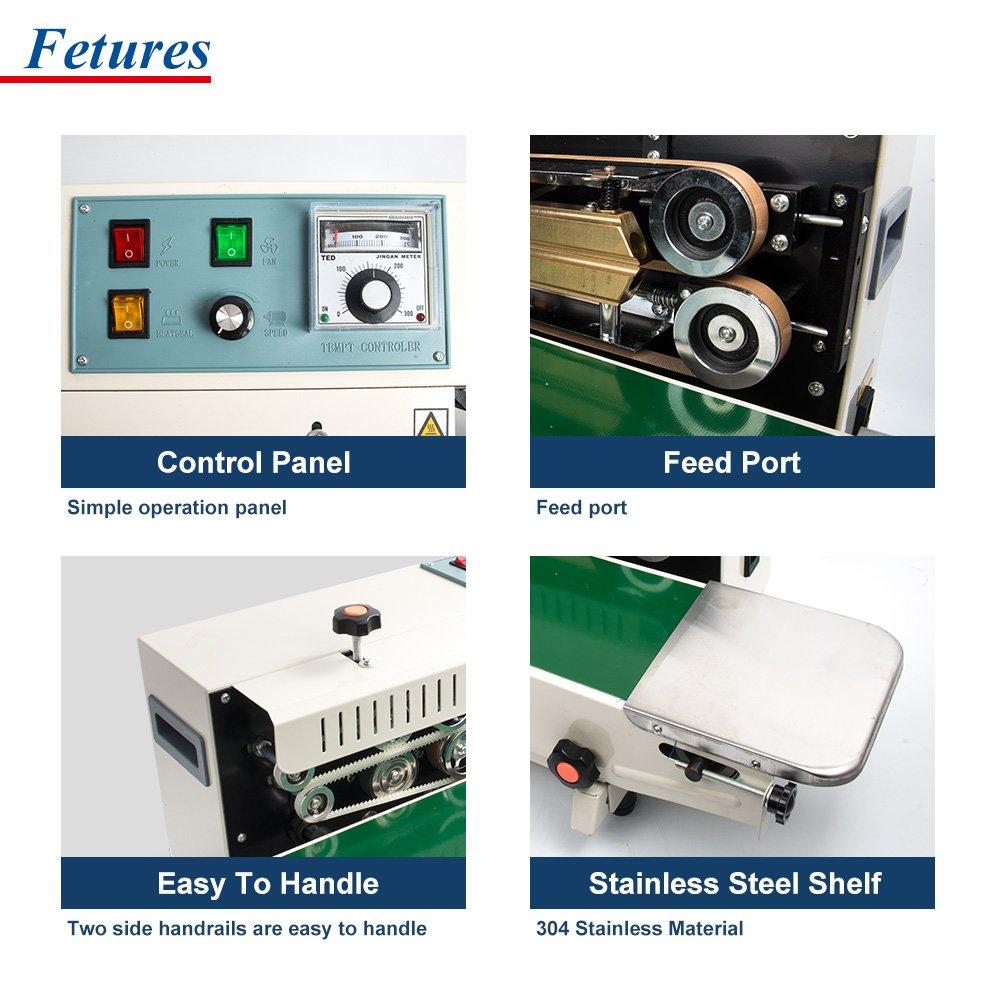Amazon.com: Sumeve FR-900 - Máquina de sellado continuo ...