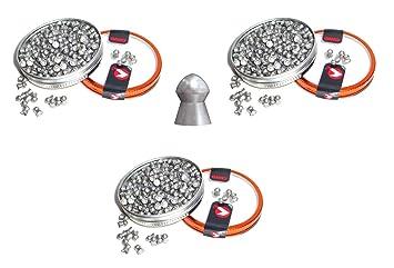 Set 135 Balines perdigon Gamo PBA Platinum Alta velocidad. Calibre 6,35mm. 3-63763: Amazon.es: Deportes y aire libre