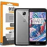 Orzly® - OnePlus 3 - Fusion Bumper Cover per Oneplus 3 / OnePlus THREE ( 2016 ) - Cover con Tecnologia di Assorbimento Urto - NERA