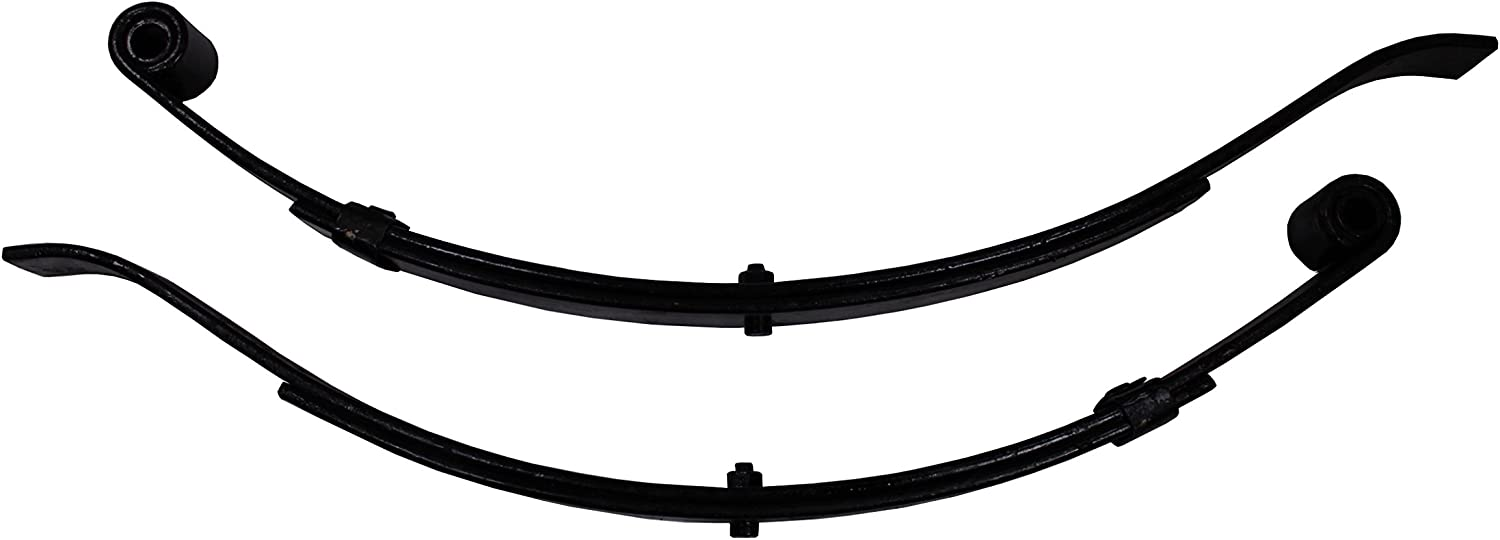 "(2) Boat Trailer Leaf Springs (1 Pair) 24 1/2"" 2 Leaf 1000lbs Capacity Per Pair"