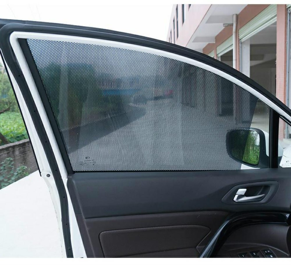 72/* 51/cm m/áxima protecci/ón contra los rayos UV para su ni/ño mascota Ventana de coche Sun Shades pantalla de malla cortina de ventana est/ática Sun Shades para coche ventanas laterales y traseros