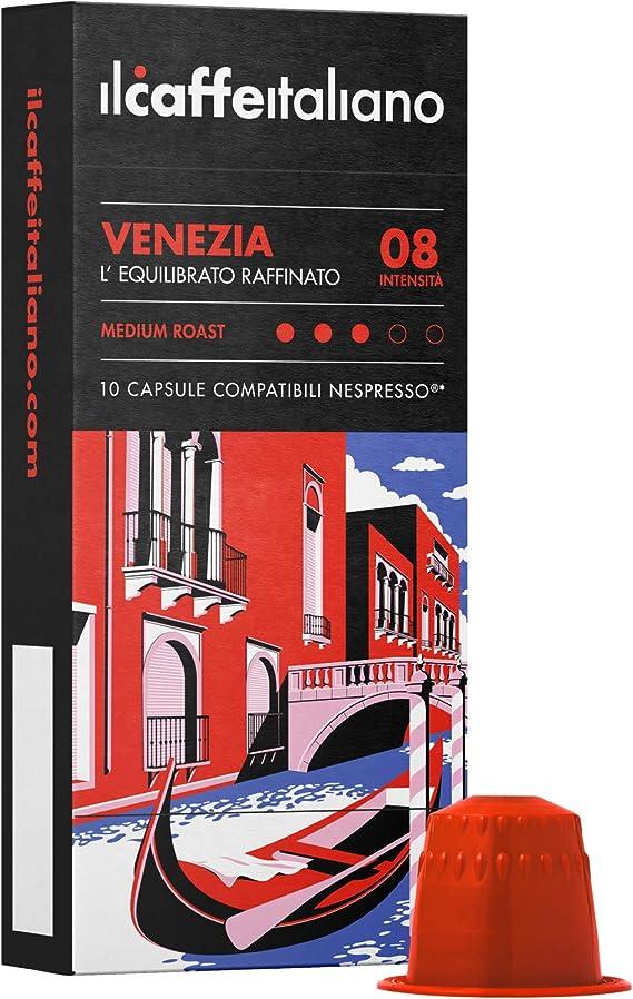 100 x Capsules Café Compatibles Nespresso arôme corposo Livraison Gratuite